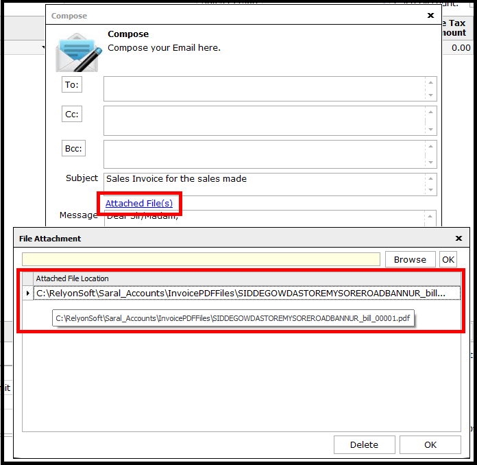 How to Digitally Sign Invoice in Saral 11