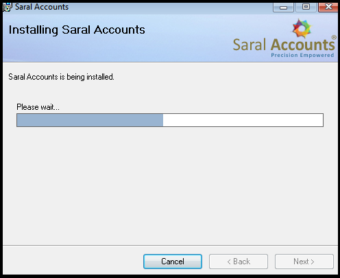 How to install Saral - Accounting and Billing Software 10