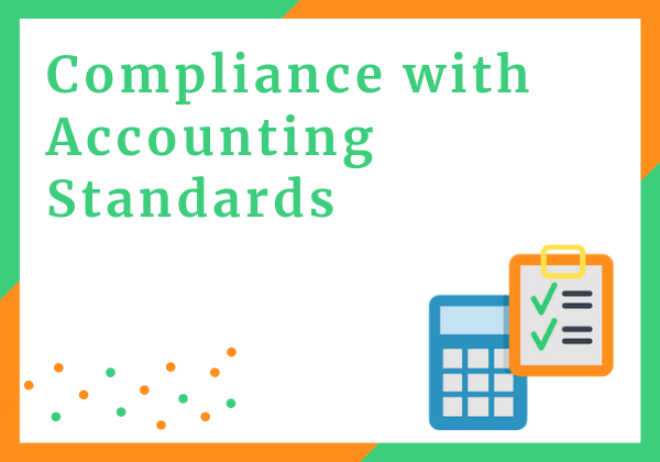 Compliance with accounting standard