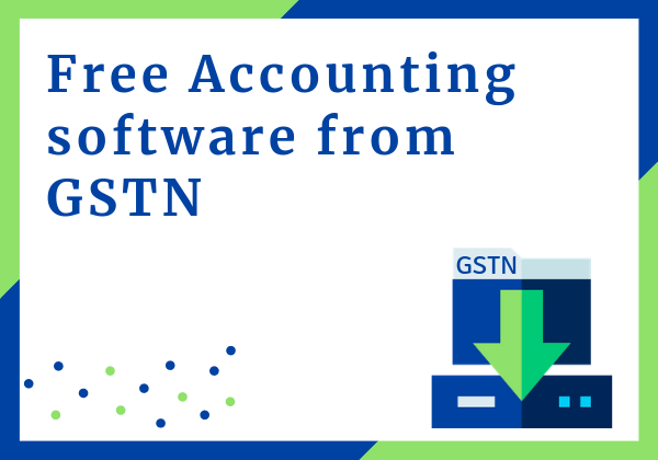 download free accounting software from GSTN