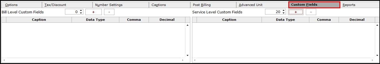 9..Service invoicing in Saral-Custom fields
