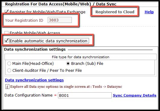3.Data Synchronization Configuration-Enable