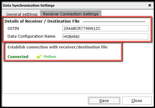 6.Data Synchronization Configuration-Online