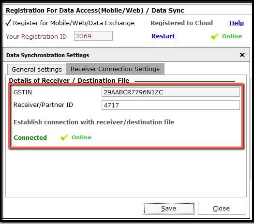 5. Data Synchronization - Receiver