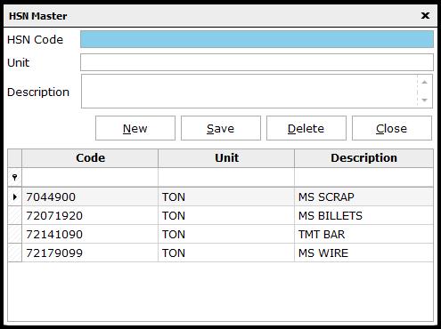 4. E-invoicing-HSN code