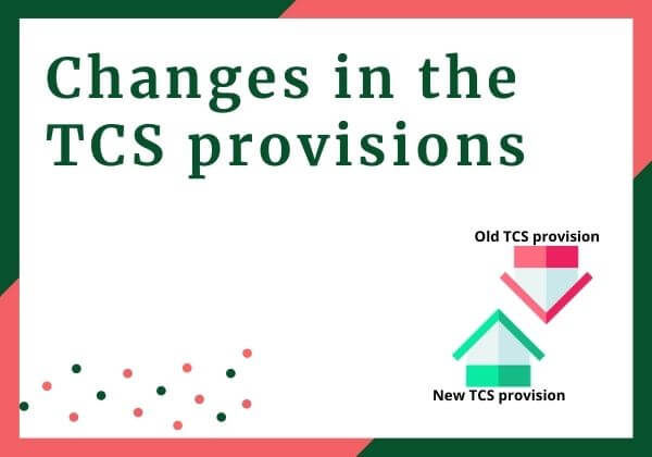 Change in the TCS provisions in 2020 Finance Bill